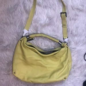 Kenneth Cole shoulder bag lime green